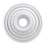 "English Study Collection 18"" White Ceiling Medallion M1002WH"