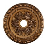 "Campione Collection 22"" Antique Bronze Ceiling Medallion M1005AB"