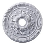 "Corinthian Collection 22"" White Ceiling Medallion M1005WH"