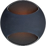 "Wink Collection 1-Light 5.25"" Black Wall Sconce E20540-BK"