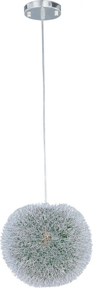 "Clipp Collection 1-Light 14"" Brushed Aluminum Pendant E24373-94AL"