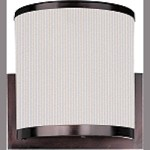 "Elements Collection 1-Light 7.25"" Oil Rubbed Bronze Wall Sconce E95080-102OI"