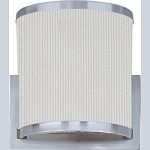 "Elements Collection 1-Light 7.25"" Satin Nickel Wall Sconce E95080-102SN"