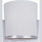 "Elements Collection 2-Light 11.5"" Satin Nickel Wall Sconce E95088-100SN"