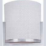 "Elements Collection 2-Light 11.5"" Satin Nickel Wall Sconce E95188-100SN"
