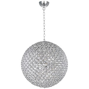 "Brilliant Collection 15-Light 36"" Round Crystal Pendant E24018-20PC"