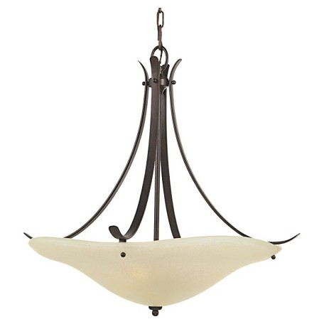 "Morningside Collection 3-Light 24"" Grecian Bronze Pendant F2046/3GBZ"