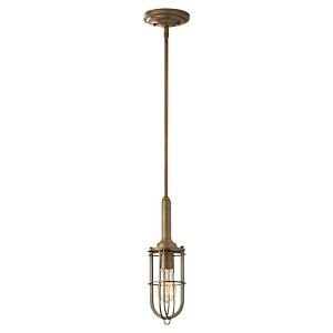 "Urban Renewal Collection 1-Light 4"" Dark Antique Brass Mini Pendant P1240DAB"