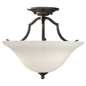 "Murray Feiss 2-Light 14"" Oil Rubbed Bronze Semi-Flush Mount SF294ORB"