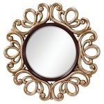 "Courtney Collection 48"" Mahogany /Antique Silver Mirror MR1132MHG/ASL"