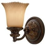 "Emma Collection 1-Light 5"" Grecian Bronze Bathroom Vanity Light VS19501-GBZ"