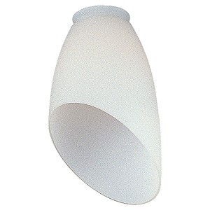 Monte Carlo Fan Series White Opal Angled Glass - G975