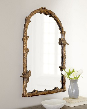 Paza Collection Antique Gold Arch Mirror 13774