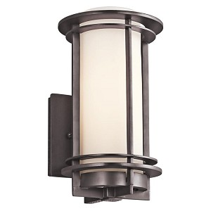 "Pacific Edge Collection 1-Light 10"" Architectural Bronze Outdoor Wall Sconce 49344AZ"