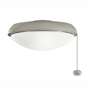 Climates Collection Antique Satin Silver Slim Profile Light Kit 380910ANS