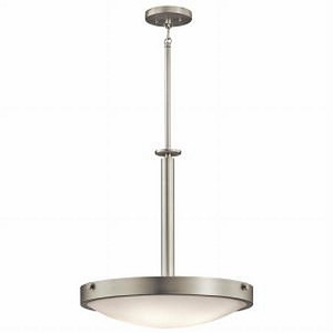"Lytham Collection 20"" 4-Light Brushed Nickel Pendant 42244NI"