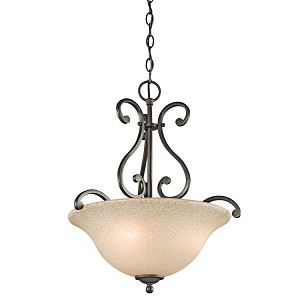 "Camerena Collection 18"" 3-Light Olde Bronze Pendant 43227OZ"