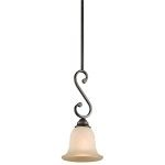 "Camerena Collection 7"" 1-Light Olde Bronze Pendant 43230OZ"
