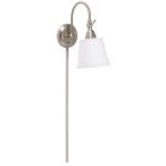 "Blaine Collection 13"" 1-Light Brushed Nickel Wall Sconce 78011NIWCA"