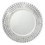 "Glimmer Collection 30"" Clear Mirror 78167"