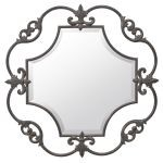 "Orleans Collection 36"" Painted Metal Mirror 78169"