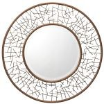 "Twigs Collection 39"" Painted Metal Mirror 78170"