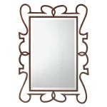 "Clancy Collection 33"" Painted Metal Mirror 78173"