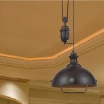 "Farmhouse Collection 1-Light 39"" Oiled Bronze Pendant 65071-1"