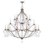 "Chesterfield Collection 10+5+5-Light 46"" Venetian Golden Bronze Chandelier 6439-71"