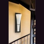 "Barrington Collection 1-Light 15"" Oil Rubbed Bronze Wall Sconce with Opal Etched Glass WB1341ORB"
