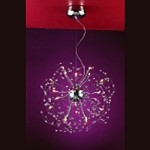 "Medusa Design 20-Light 23"" Polished Chrome Crystal Hanging Pendant SKU* 10798"