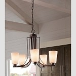 "Weston Collection 9-Light 31"" Colonial Iron Chandelier with Opal Etched Glass F2764/6+3CI"