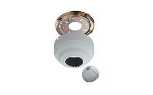 Monte Carlo Fan Series Textured White Sloped Ceiling Adaptor MC95TW
