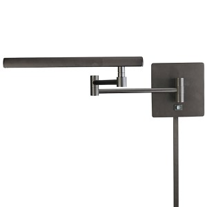 "Madake Collection 1-Light 31"" Dorian Bronze Swing Arm Wall Lamp with Metal Shade P266-1-615B"