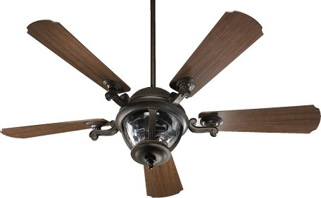 "Portside Patio Family 52"" Baltic Granite Outdoor Ceiling Fan with Light Kit 142525-945"