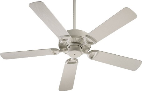 "Estate 52 Patio Family 52"" Antique White Outdoor Ceiling Fan 143525-67"