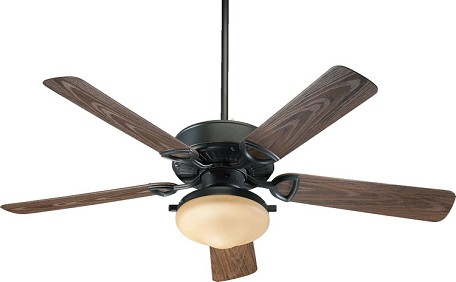 "Estate 52 Patio Family 52"" Old World Outdoor Ceiling Fan with Light Kit 1435259395"