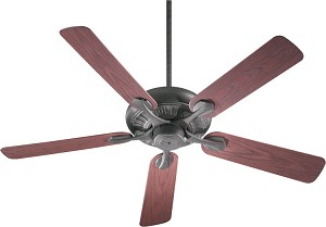 "Pinnacle Patio Family 52"" Toasted Sienna Outdoor Ceiling Fan 191525-44"