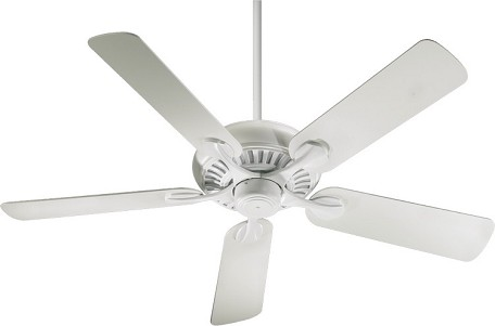 "Pinnacle Patio Family 52"" Studio White Outdoor Ceiling Fan 191525-8"