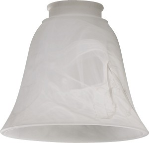 "Quorum International 5"" Faux Alabaster Glass 2812"