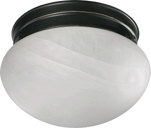 "Quorum International 9"" Old World Flush Mount 3021-8-95"