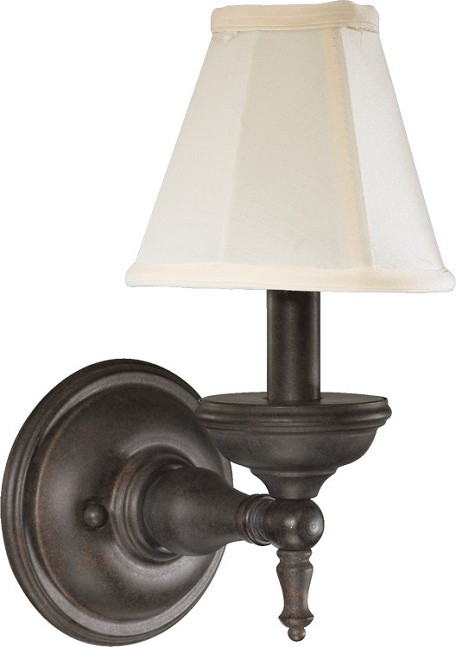 Ashton Family 1-Light Toasted Sienna Wall Sconce 5436-1-44