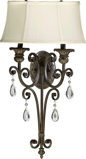Fulton Family 2-Light Wall Sconce 5532-2-54