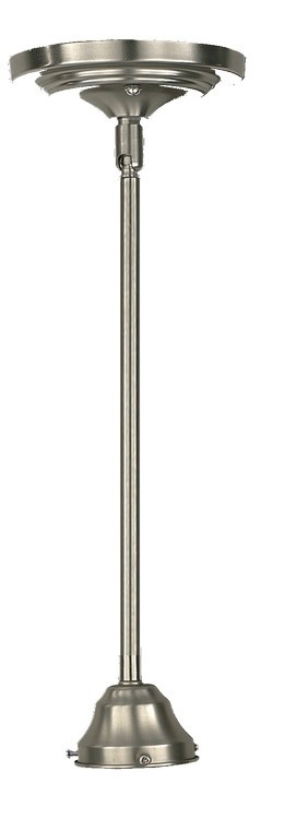 "Quorum International 1-Light 5"" Satin Nickel Pendant 62-02-065"