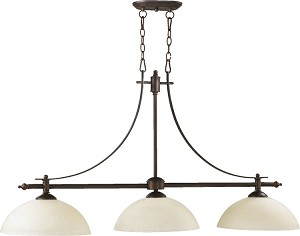 "Aspen Family 48"" Oiled Bronze Island Light 6577-3-86"