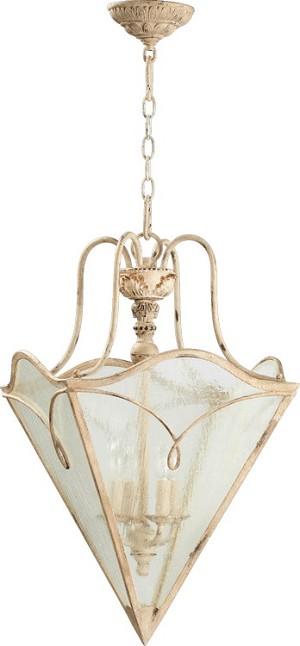 "Salento Series 4-Light 21"" Persian White Foyer Pendant 6806-4-70"