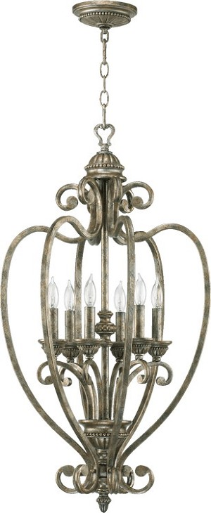 "Summerset Family 18"" Mystic Silver Entryway Light 6826-6-58"