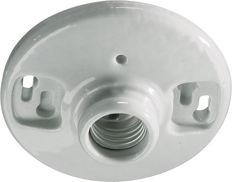 "Quorum International 4"" White Flush Mount 7-222"