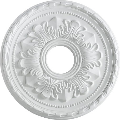 "Quorum International Family 17"" Studio White Ceiling Medallion 7-2604-8"