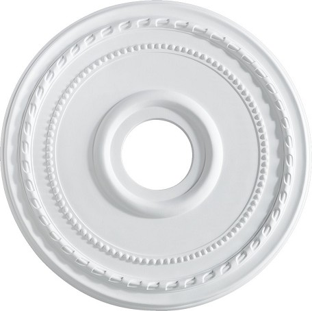 "Quorum International Family 17"" Studio White Ceiling Medallion 7-2605-8"